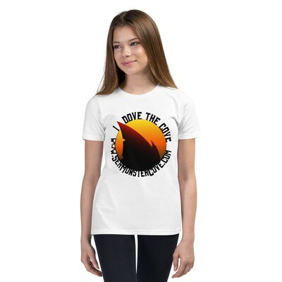 I Dove The Cove (Black Letters) Youth Short Sleeve T-Shirt