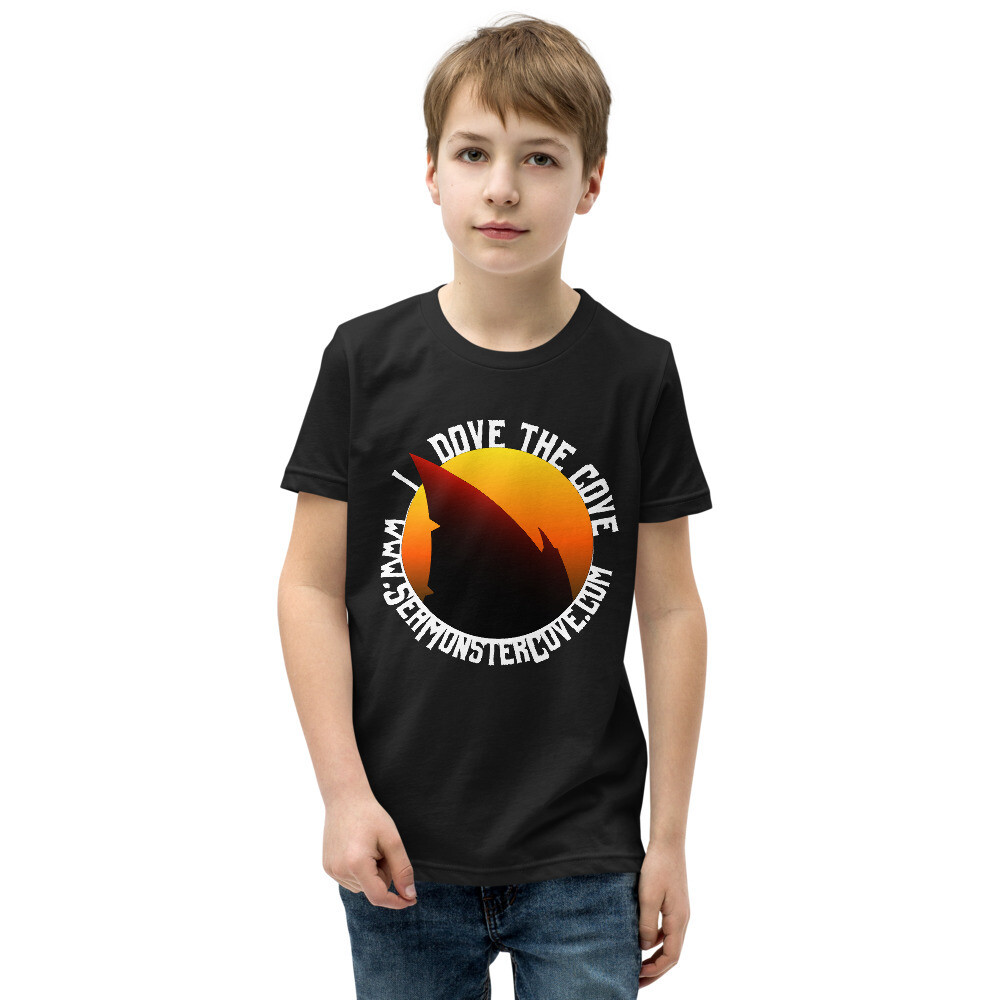 I Dove The Cove (White Letters) Youth Short Sleeve T-Shirt