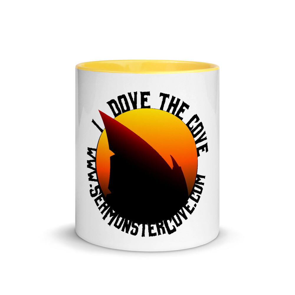 I Dove The Cove Mug with Color Inside