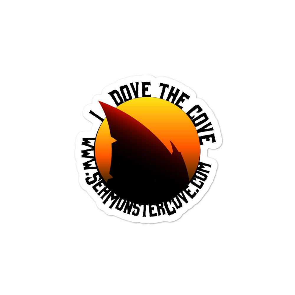 I Dove The Cove Bubble-free stickers