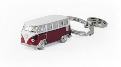 VW T1 3D Schlüsselanhänger - rot