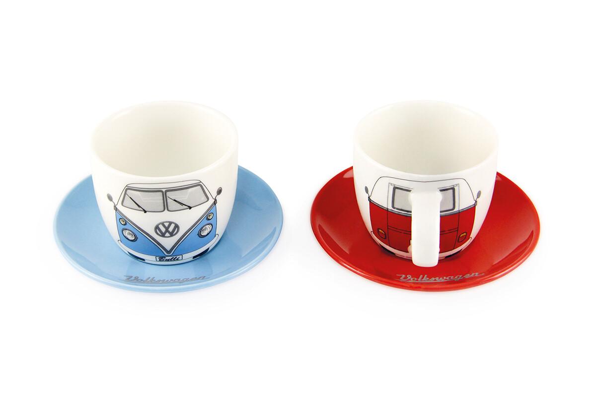 VW T1 Espresso Tassen 2er Set