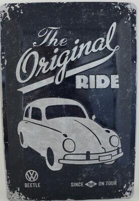 The Original Ride Käfer - Blechschild