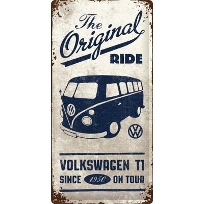 The Original Ride T1 - Blechschild