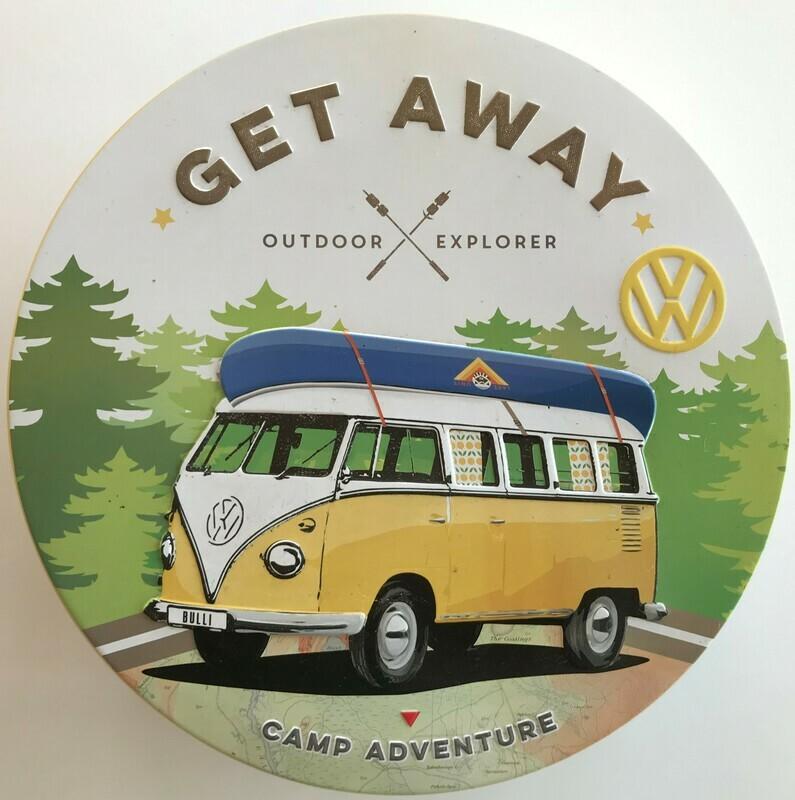 Let´s Get Away - Vorratsdose rund