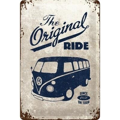 The Original Ride Bulli - Blechschild