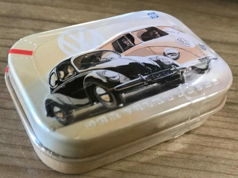 Der Volkswagen - Pillendose