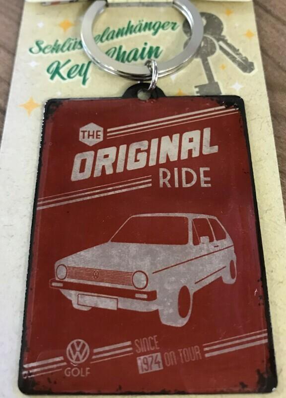 The Original Ride VW Golf - Schlüsselanhänger