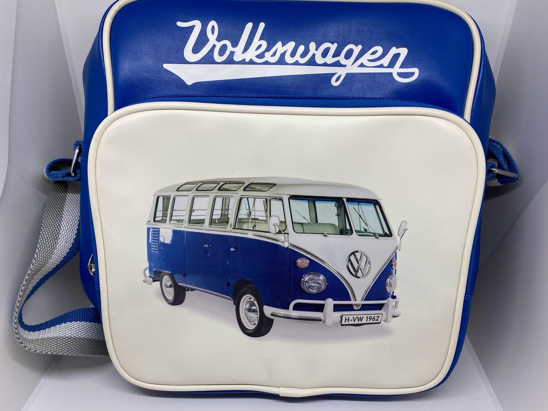 VW T1 Schultertasche - blau