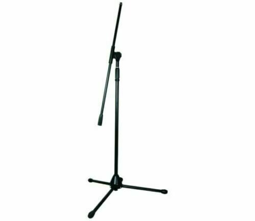 Microphone stand height adjustable Tripod Boom Black iMS918