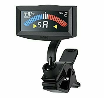 Korg PitchCrow-G Clip On Tuner - Black