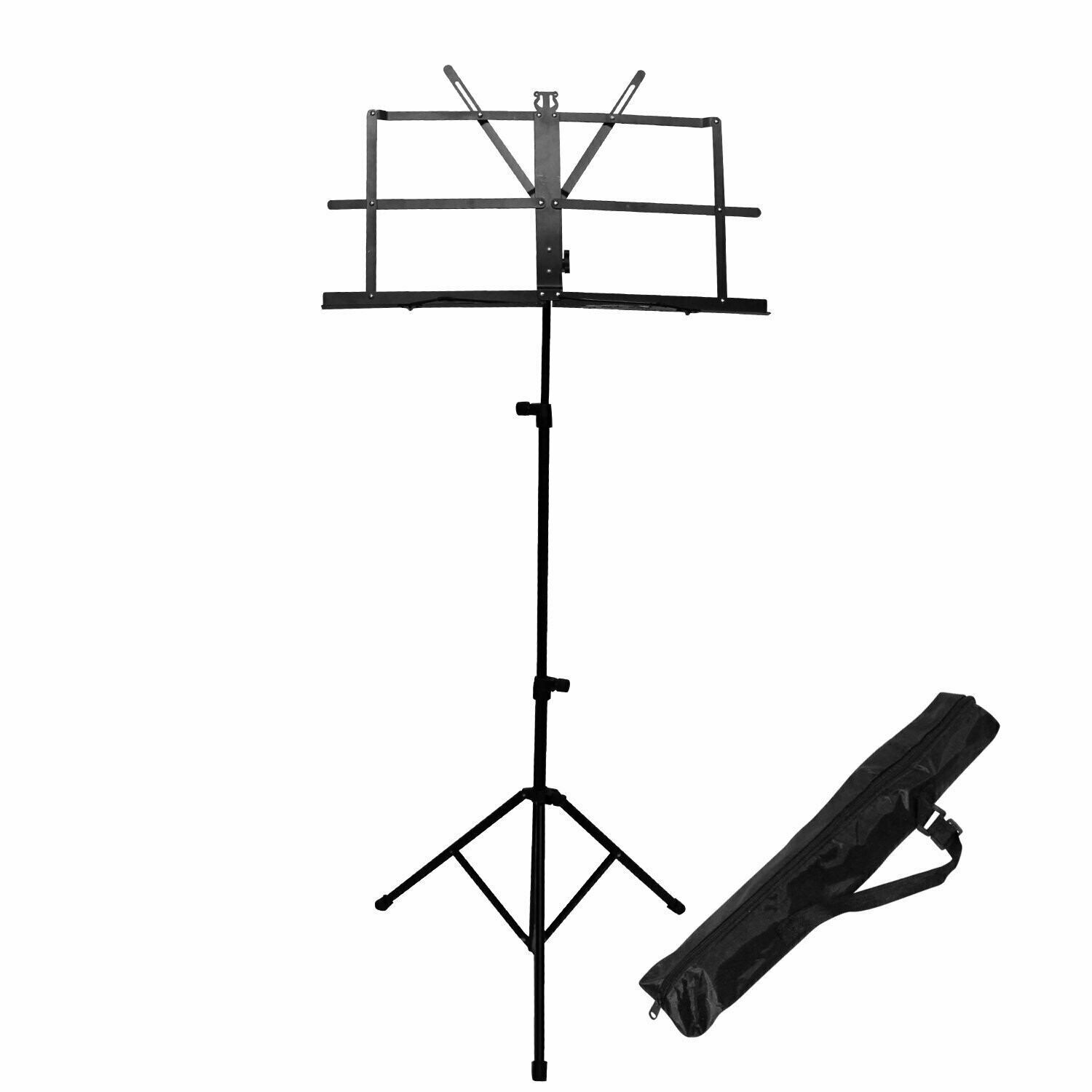 Music Stand adjustable compact portable carrying bag iMS907
