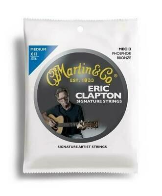 Martin MEC13 Clapton's Choice Phosphor Bronze Acoustic Guitar Strings, Medium