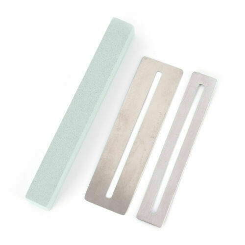 Guitar Fret Wire Polishing Beam Sanding Stone Protector DIY Luthier Tool-9876