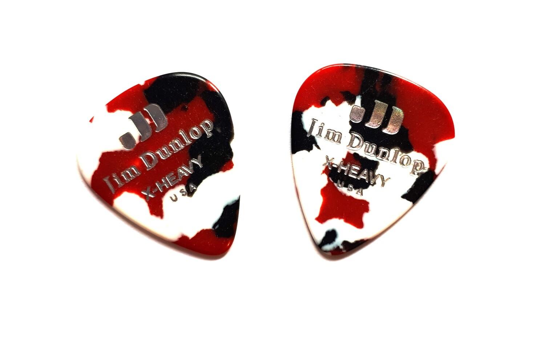 Picks Jim Dunlop 483P-06-XH Celluloid Confetti X-Heavy 2 pcs
