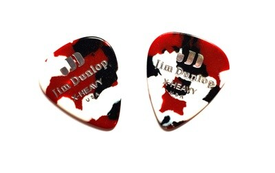 Picks Jim Dunlop 483P-06-XH Celluloid Confetti X-Heavy 2 pcs