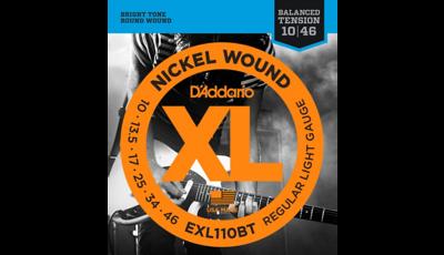 D'Addario EXL110BT Balanced Tension Lite Electric Guitar Strings Single-Pack