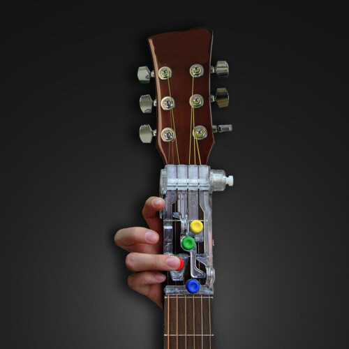 ChordBuddy Guitar Learning System for Left handed Package