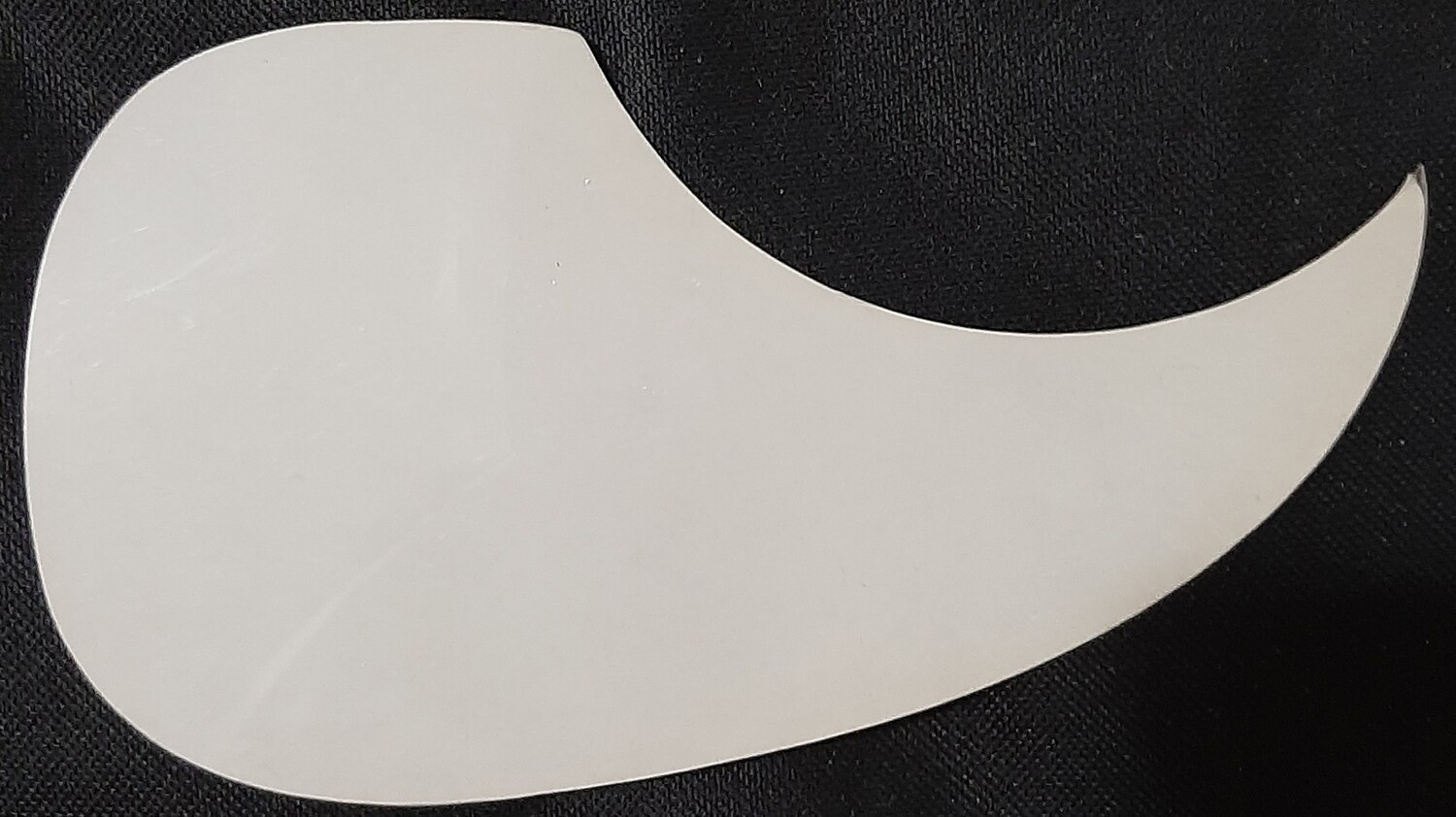 New Acoustic Guitar Self Adhesive Pickguard Dreadnaught iMG2304 White