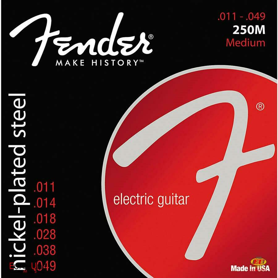 Fender 250M Medium Nickel-plated steel Electric Guitar String