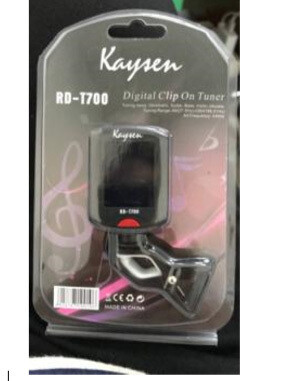 Digital Tuner for Acoustic, Electric, Classical, Bass Guitar iMG427