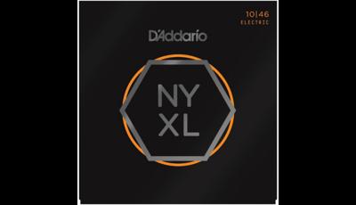 D'Addario NYXL1046 Nickel Plated Electric Guitar Strings, Light