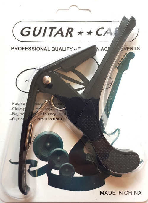Capo for Acoustic, Electric guitar black brand new