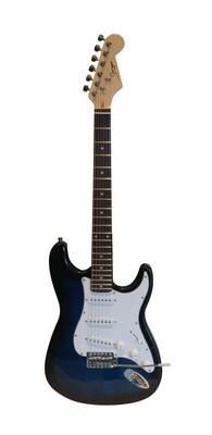Electric Guitar for beginners Dark Blue Stripe iMEG285