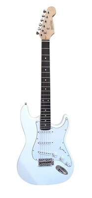 Electric Guitar Standard size for beginners White PG462