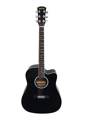 Acoustic Guitar for Beginners, Students Black iMusic642