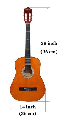 Classical Guitar Nylon Strings 38 inch for Children, Beginners iMusic651