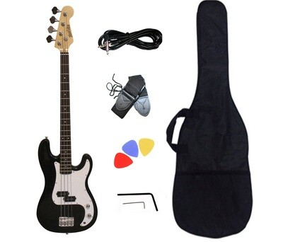 Bass Guitar for Beginners Black PB871