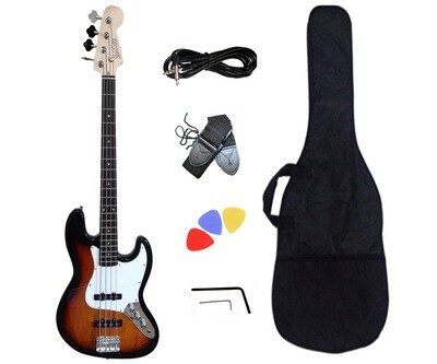 Bass Guitar 4 String Jazz Sunburst iMEB891