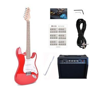 Electric Guitar 20W amp Package for beginners Sunburst iMEG28320