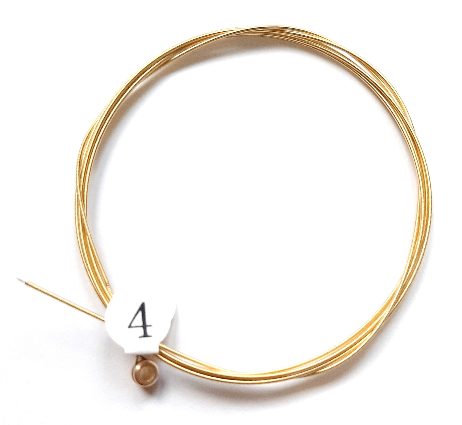 Single Acoustic Guitar String : 4th string : 5 pcs