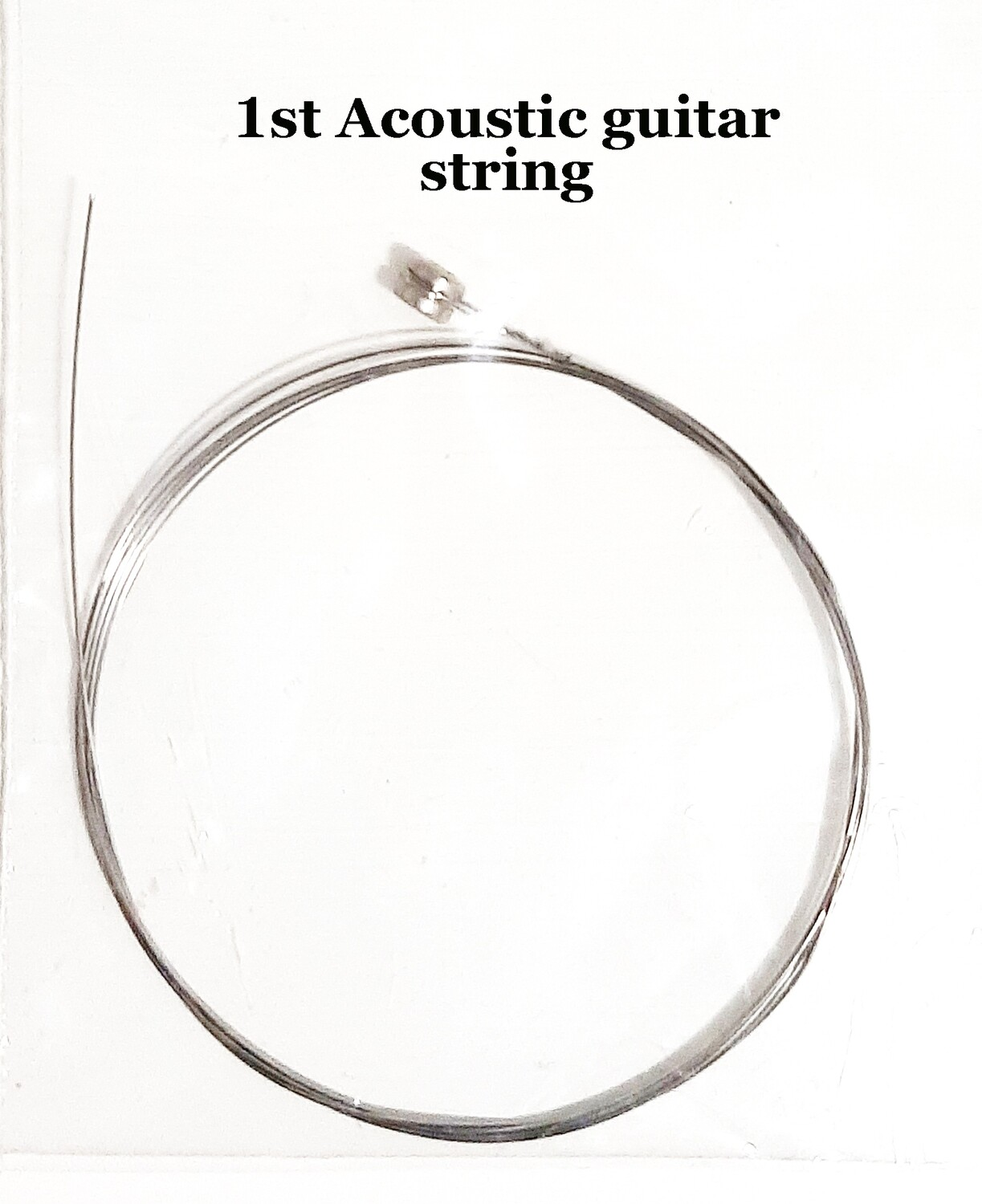Single Acoustic Guitar String : 1st string : 10 pcs