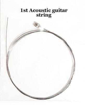Single Acoustic Guitar String : 1st string : 10 pcs