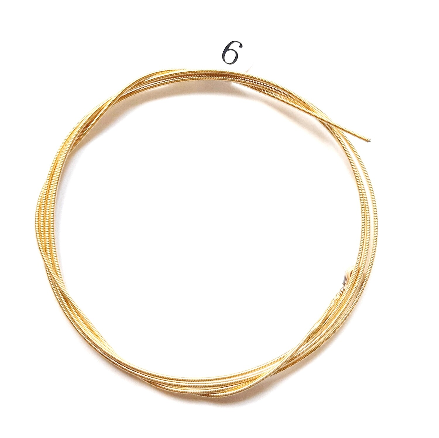 Single Acoustic Guitar String : 6th string : 5 pcs