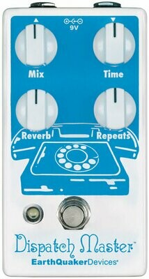 Dispatch Master® Digital Delay & Reverb EarthQuaker Devices