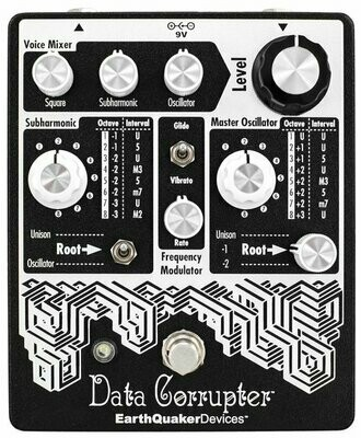 Data Corrupter® Modulated Monophonic Harmonizing PLL EarthQuaker Devices