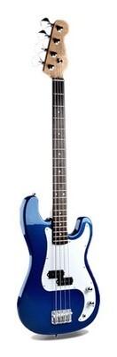 Bass Guitar for Beginners Regular Size Blue PPB835