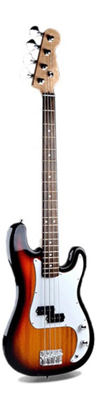 Bass Guitar for Beginners Regular Size Sunburst PPB834