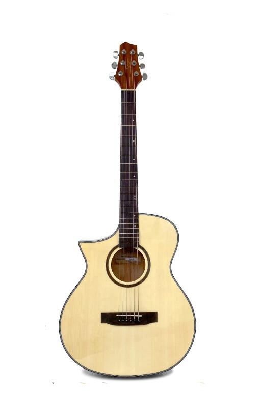 Left handed Acoustic Guitar Natural PPG731LF