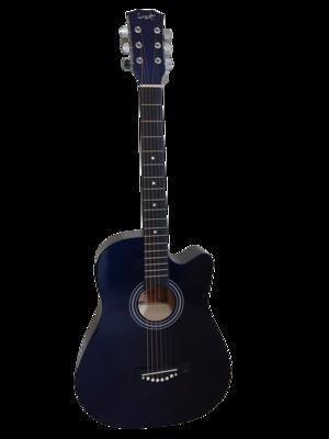 Acoustic Guitar 38 inch for Children Dark blue iMusic679