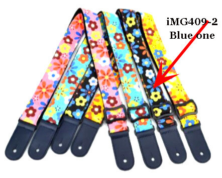Strap for Acoustic, Electric, Classical, Bass Guitar iMG409-2