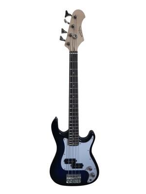 Mini Bass Guitar for Kids 36 inch Blue SPS516
