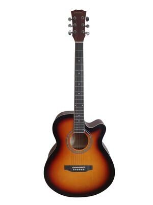 Acoustic Guitar for beginners, Students 40 inch Full Size Sunburst SPS379