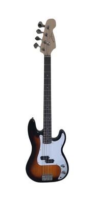 Bass Guitar for Beginners Regular Size Sunburst SPS515