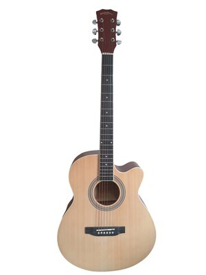 Acoustic Guitar for beginners, Students 40 inch Full Size Natural SPS377