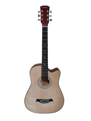 Acoustic Guitar 3/4 size for Beginners, Kids Natural SPS392